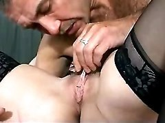 Busty mommy blows and gets licked